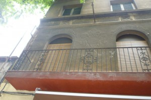 Vista del estado inicial de la fachada