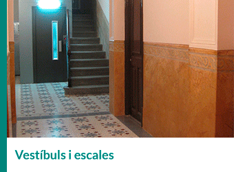 Vestibuls i escales