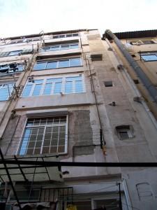 Estado inicial fachada posterior