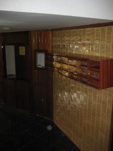 Vista del estado inicial del vestíbulo interior