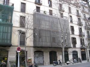 Vista del estado inicial de la fachada principal