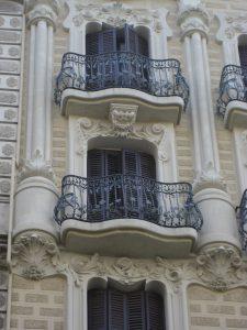 Detalle balcón rehabilitado