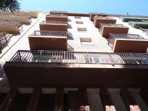 Estado inicial de los balcones de fachada principal