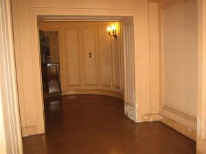 Vista del estado inicial del vestíbulo