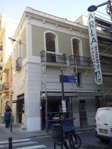 Estado rehabilitado de la fachada principal