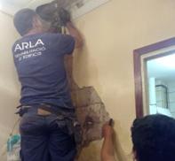 Arla interviene en la estructura de un edificio centenario en el barrio de Gràcia