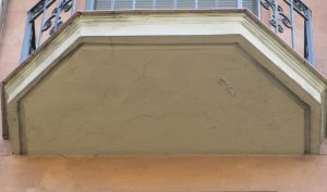 detalle estado inicial losa de balcon